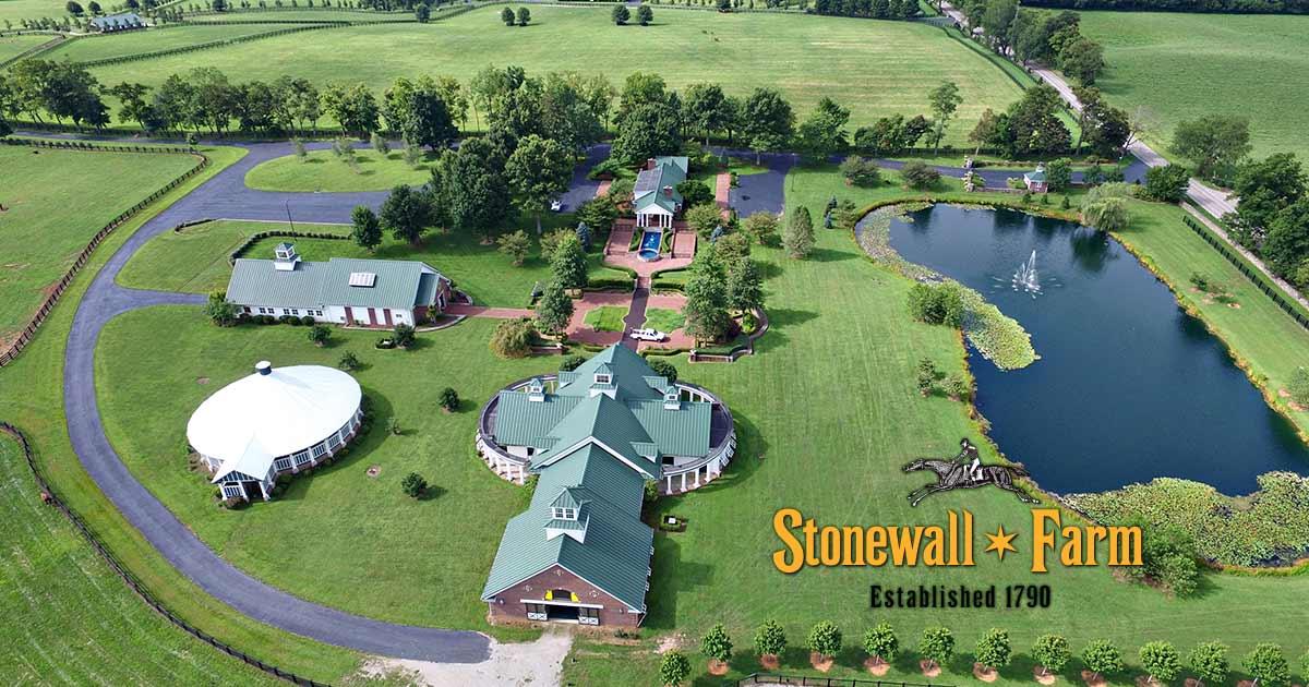 Keeneland 2017 Luxury Home Tour Stonewall Farm